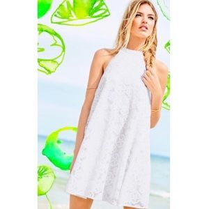 Lilly Pulitzer White Halter Dress